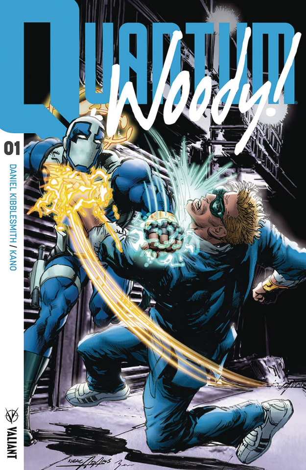 Quantum & Woody #1 (50 Copy Adams Cover)