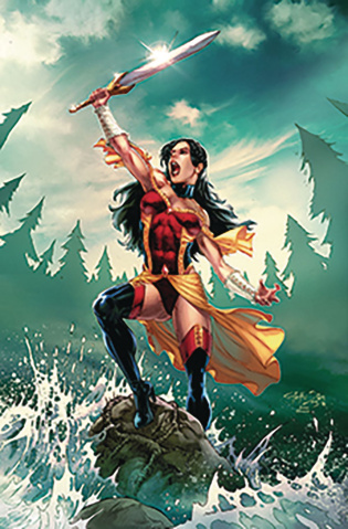 Grimm Fairy Tales #22 (Diaz Cover)