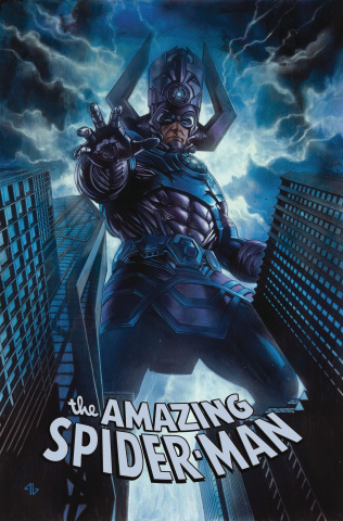 The Amazing Spider-Man #12 (Granov Fantastic Four Villains Cover)