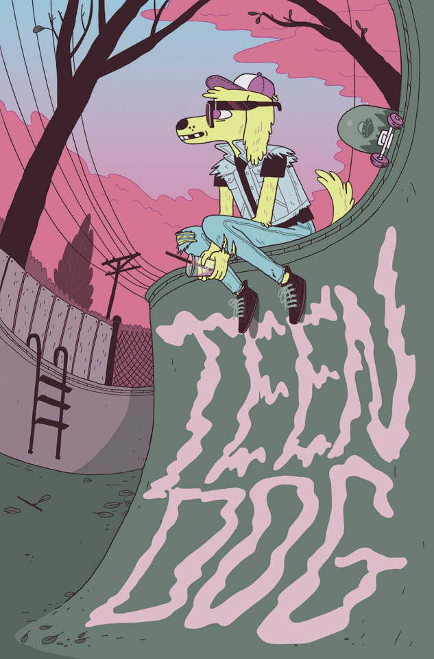 Teen Dog #1 (15 Copy Cover)