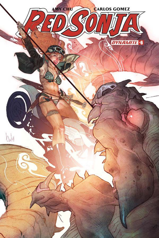 Red Sonja #6 (Caldwell Cover)