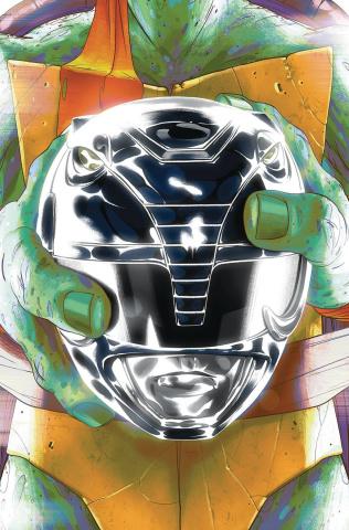 Power Rangers / Teenage Mutant Ninja Turtles #5 (Mike Montes Cover)