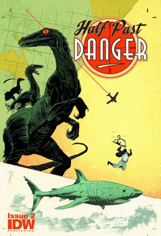Half Past Danger #2 (Subscription Cover)