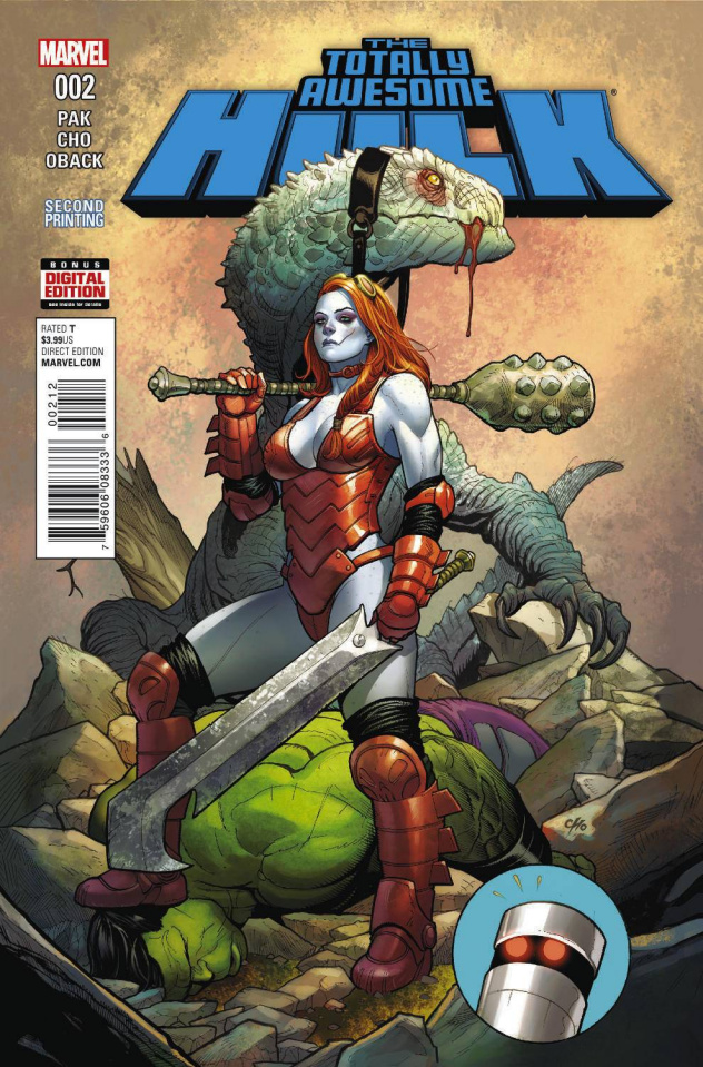 Totally Awesome Hulk #2 (Frank Cho 2nd Printing)
