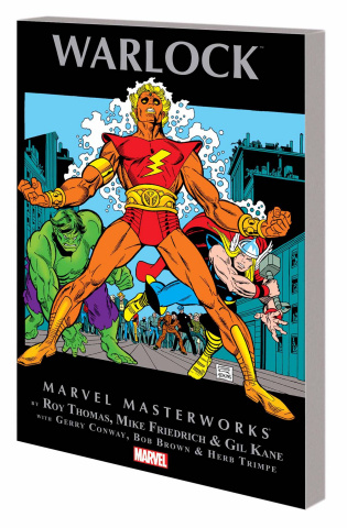 Warlock Vol. 1 (Marvel Masterworks)