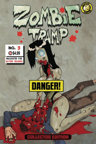 Zombie Tramp: Origins #3 (Risque Replica Cover)