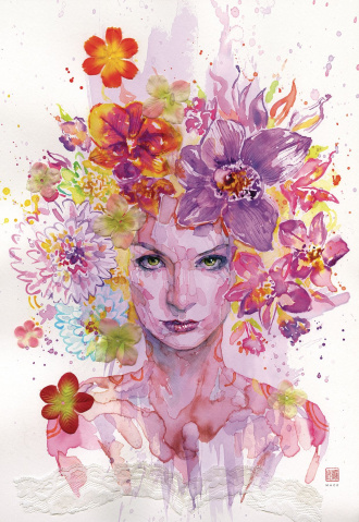 American Gods: My Ainsel #4 (David Mack Cover)