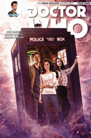 Doctor Who: New Adventures with the Tenth Doctor, Year Three #14 (Photo Cover)