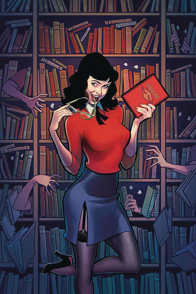 Bettie Page: Unbound #10 (20 Copy Shannon Virgin Cover)