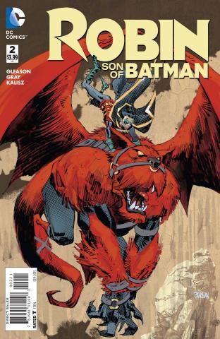 Robin: Son of Batman #2 (Variant Cover)