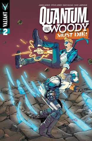 Quantum & Woody Must Die! #2 (Christmas Cover)