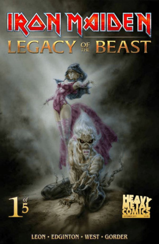 Iron Maiden: Legacy of the Beast #1 (Royo Cover)