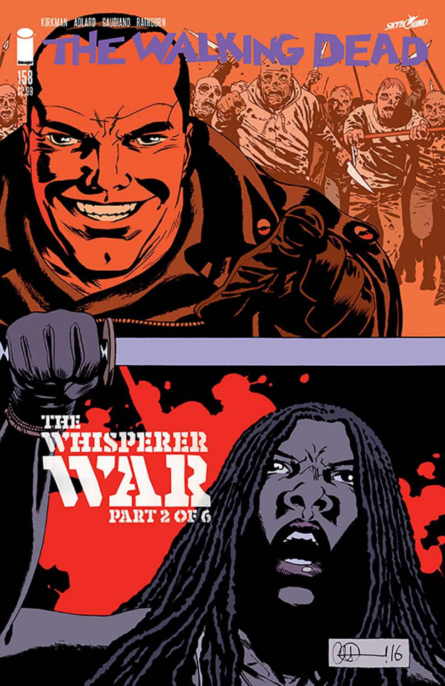 The Walking Dead #158 (Adlard & Stewart Cover)