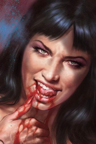 Vampirella #7 (35 Copy Parrillo Vamp #8 Virgin Sneak Peek Cover)