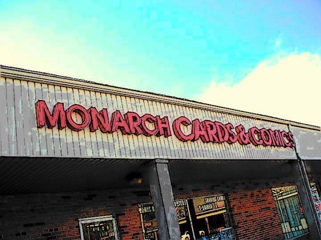 Monarch Cards & Comics