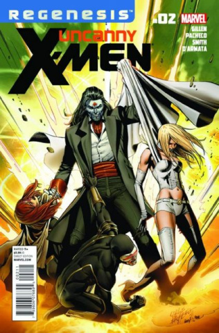 Uncanny X-Men #2 (2nd Printing)