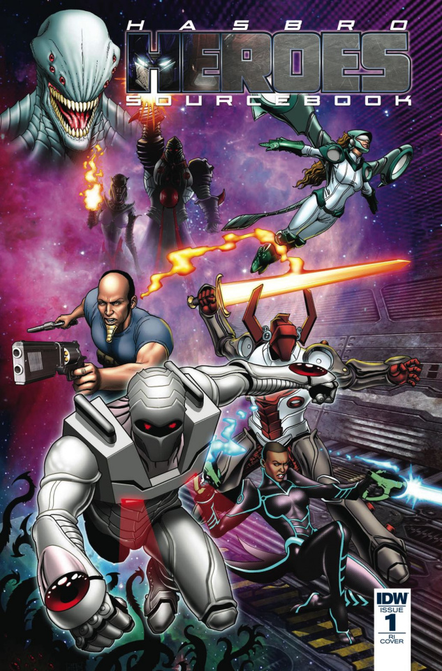 Hasbro Heroes Sourcebook #1 (10 Copy Cover)
