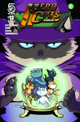 Hero Cats #13 (Viani Cover)