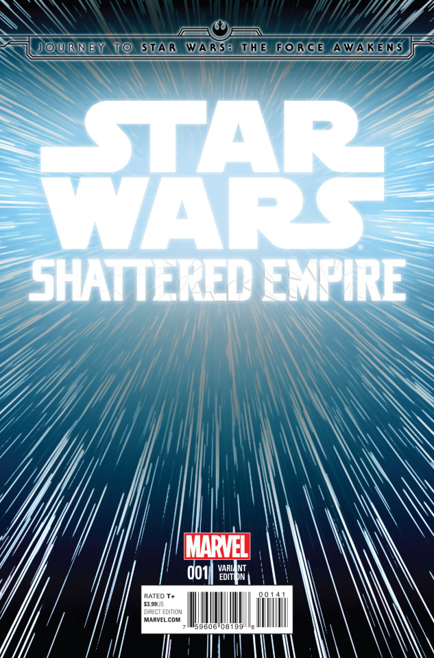 Journey to Star Wars: The Force Awakens - Shattered Empire #1 (Hyperspace Cover)