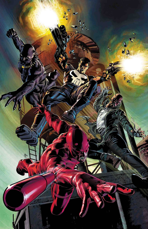 Marvel Knights: 20th Anniversary #1 (Deodato Teaser Cover)