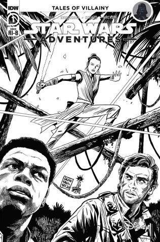 Star Wars Adventures #1 (25 Copy Francavilla Cover)