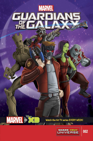 Marvel Universe: Guardians of the Galaxy #2