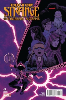 Doctor Strange and the Sorcerers Supreme #3 (Shalvey Cover)