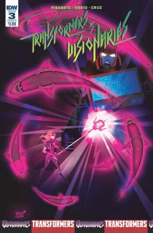 The Transformers vs. The Visionaries #3 (Veregge Cover)