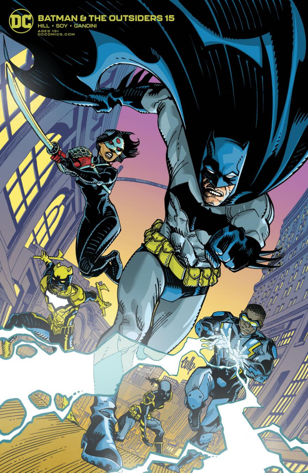 Batman and the Outsiders #15 (Cully Hamner Cover)