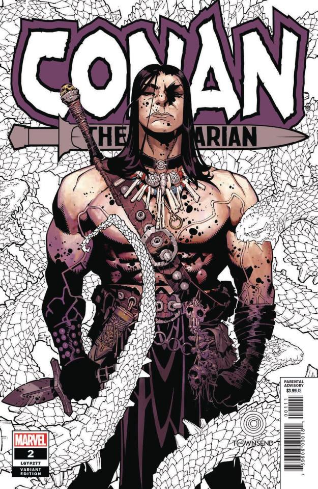 Conan the Barbarian #2 (Bachalo Cover)