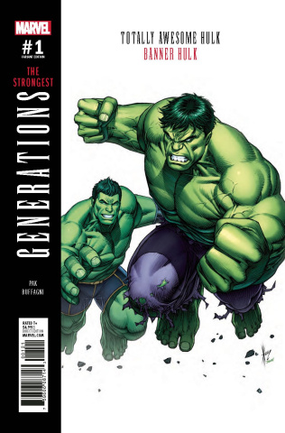 Generations: Banner Hulk & Totally Awesome Hulk #1 (Keown Cover)