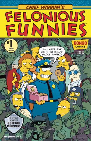 Chief Wiggum's Felonious Funnies #1