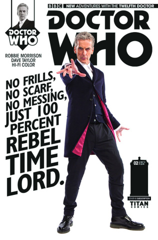Doctor Who: New Adventures with the Twelfth Doctor #1 (Subscription Cover)