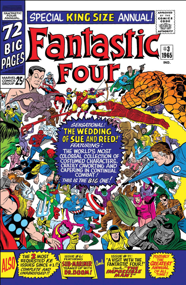 Fantastic Four: The Wedding Reed and Sue #1 (True Believers)