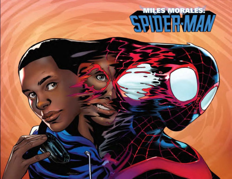 Miles Morales: Spider-Man #10 (Lupacchino Wraparound Cover)