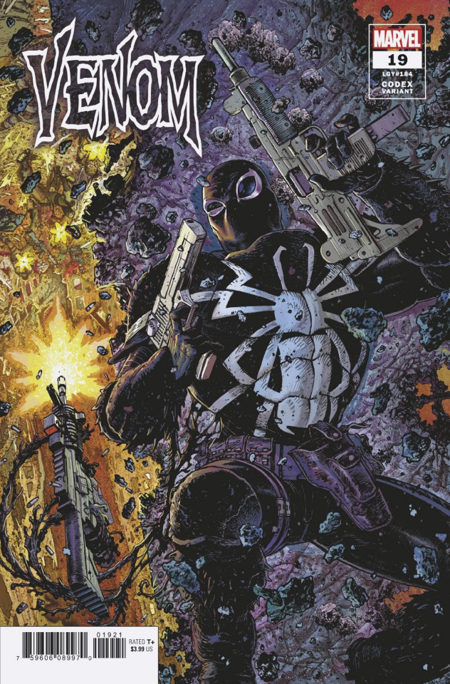 Venom #19 (Moore Codex Cover)