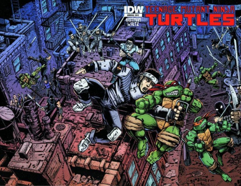 Teenage Mutant Ninja Turtles Annual 2012
