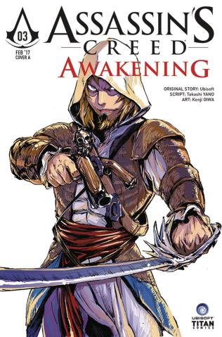 Assassin's Creed: Awakening #3 (Kenji Cover)