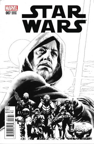 Star Wars #7 (Cassaday Sketch Cover)