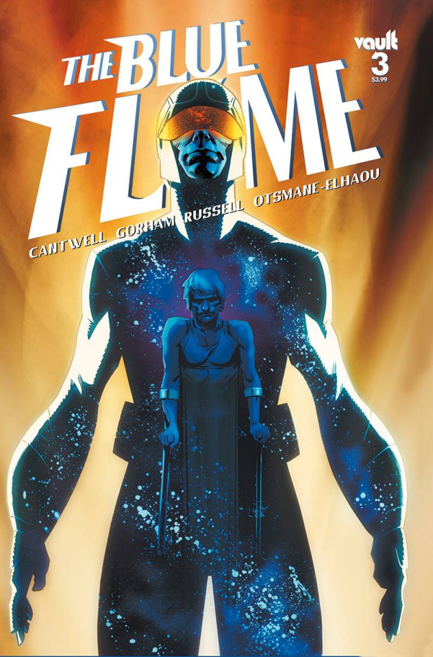 The Blue Flame #3 (Gorham Cover)