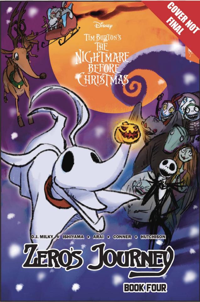 The Nightmare Before Christmas: Zero's Journey Vol. 4