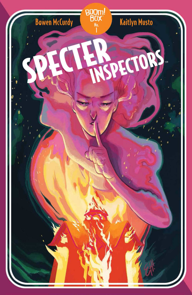 Specter Inspectors #2 (Henderson Cover)