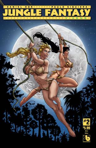 Jungle Fantasy: Vixens #2 (Bikini Babes Cover)