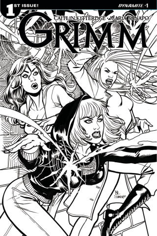 Grimm #1 (10 Copy Sanapo B&W Cover)