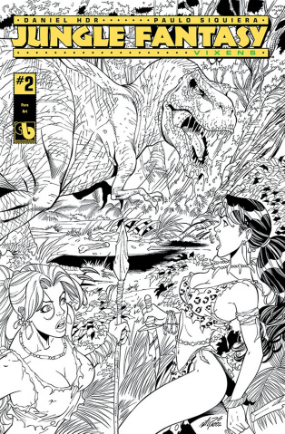 Jungle Fantasy: Vixens #2 (Pure Art Cover)
