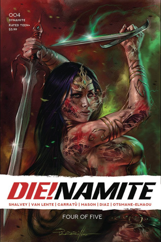 DIE!namite #4 (Parrillo Cover)