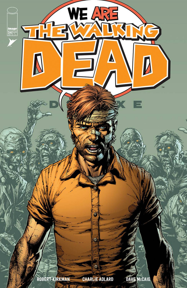 The Walking Dead Deluxe #24 (Finch & McCaig Cover)