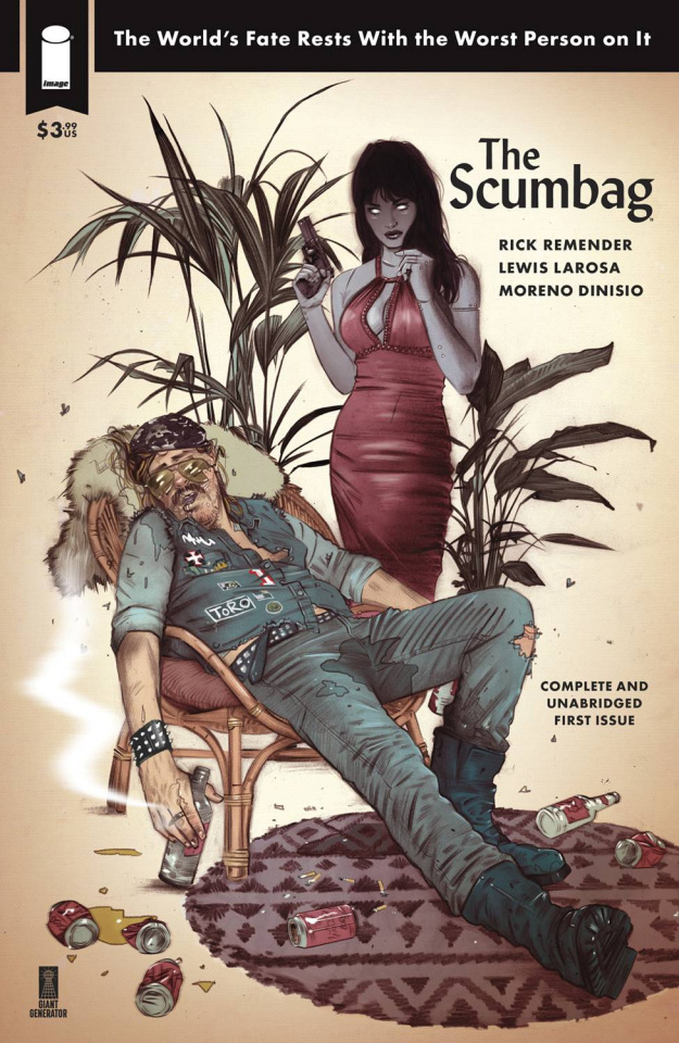The Scumbag #1 (10 Copy Lotay Cover)