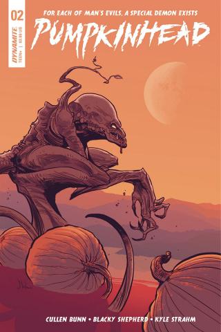 Pumpkinhead #2 (Strahm Cover)
