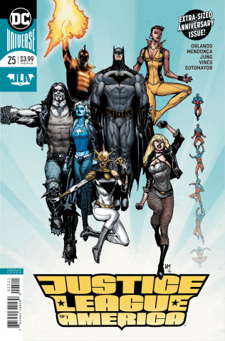 Justice League of America #25 (Variant Cover)
